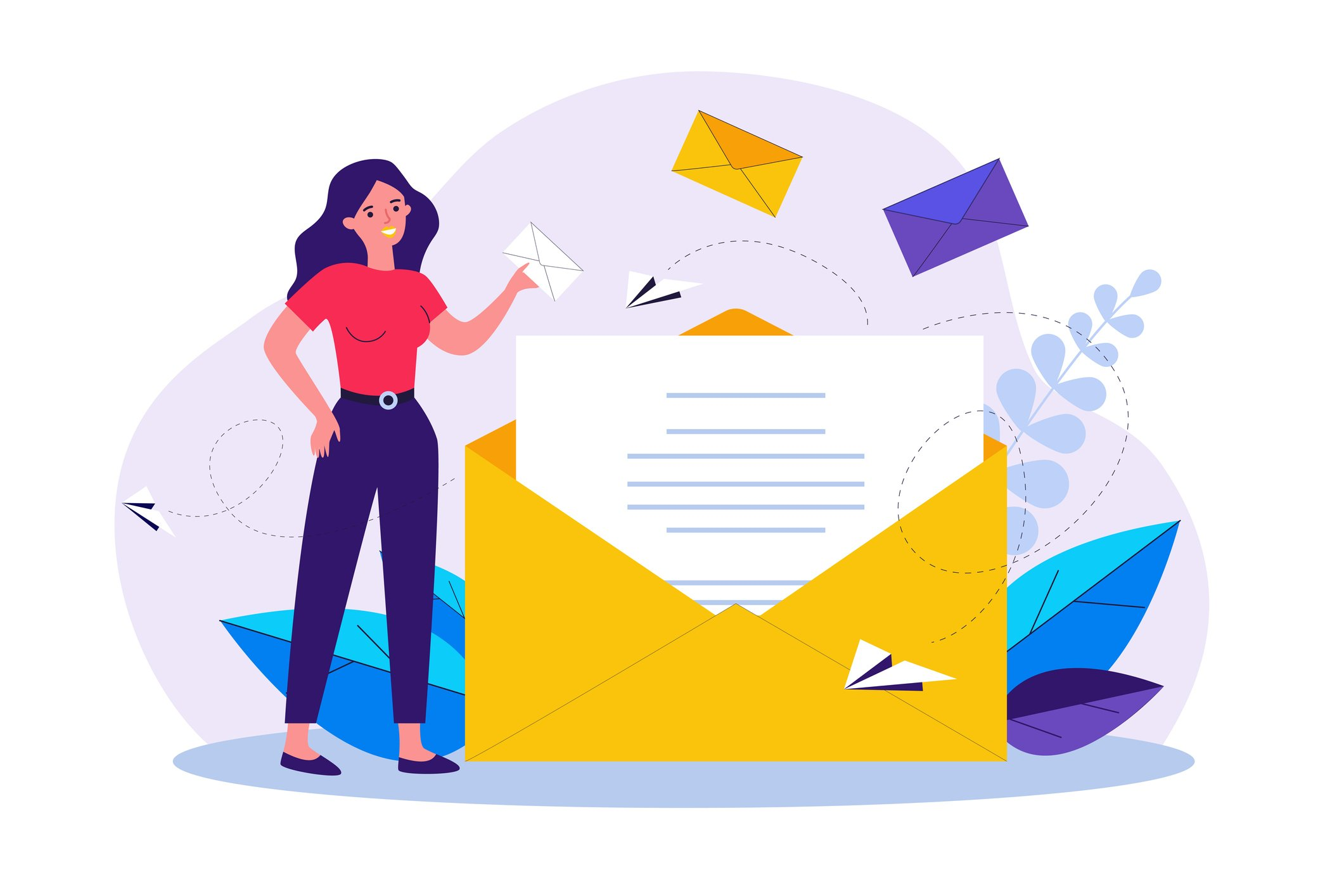 email best practices concept